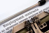 Fototapety Employment contract
