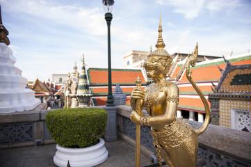 Kinora at Wat Phra Kaew