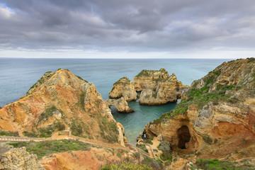 Algarve e a costa de Lagos