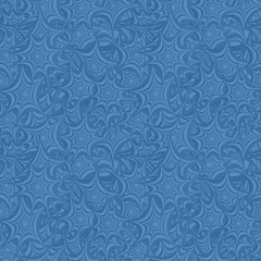 Azure seamless star pattern background