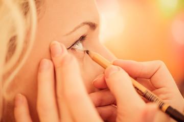 makeup artist work