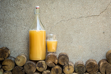 home made bread drink - kvass