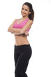 young woman fitness