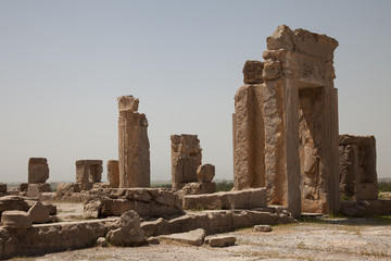 ruins of the ancient Achaemenid city of Persepolis