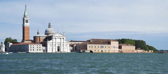 Giudecca island in the Venetian Lagoon