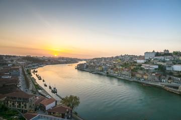 Portugal. Porto city. View of Douro river