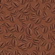 Coffee Background - Seamless Vector Pattern