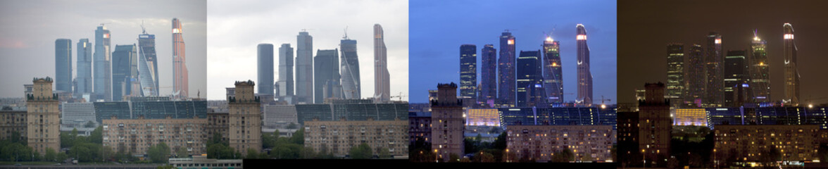 Buildings of Moscow City