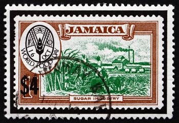 Postage stamp Jamaica 1981 World Food Day, Sugar Industry