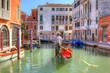 Leinwandbild Motiv Venice Gondola Ride