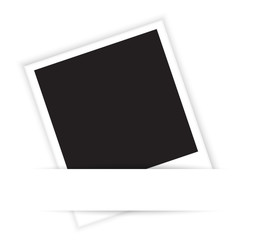 blank photo vector illustrtion