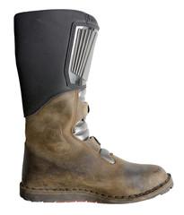 used biker boot