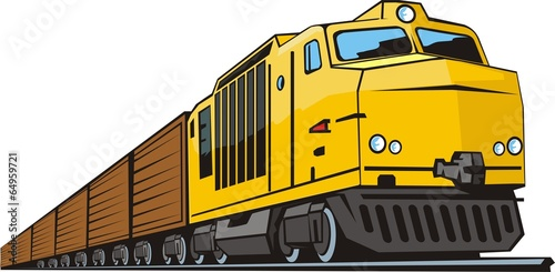 cargo train - 64959721