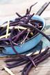 Purple string beans
