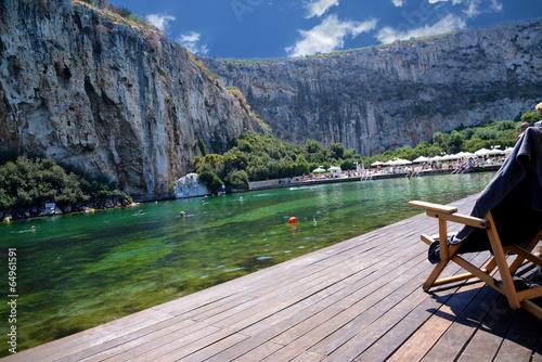 Vouliagmeni Lake Athens Greece