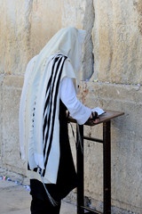 Jerusalem, the Western Wall, Jew, ultra-orthodox