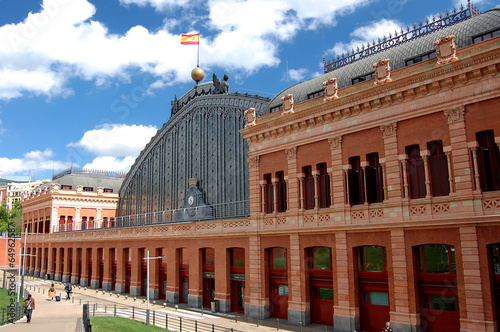 Atocha Railway Station in Madrid - 64962587
