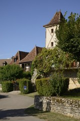 France, the picturesque village of Loubressac