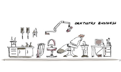 Dentist room set