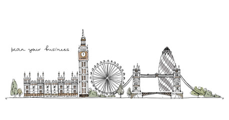 London, sketch collection