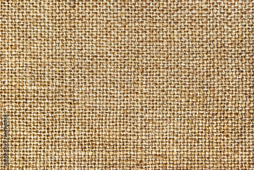 Texture of coarse cloth, burlap.