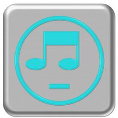 bouton web musique, son