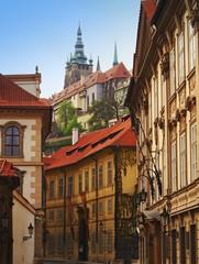 Prague small street