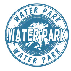 Water Park stamp