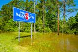 Fototapety Mississippi state sign