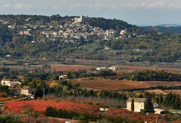 Lacoste village in France
