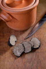 Truffle and pot