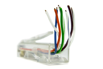 Ethernet cat5 connector