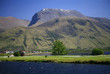 Leinwandbild Motiv Ben Nevis from Corpach, Lochaber, Scotland