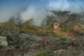 Trekking in Pico Ruivo, Madeira