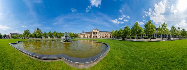Wiesbaden Kurhaus Panorama