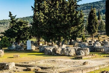 Nemea Archaeological Site, Greece