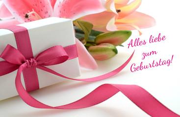 Alles liebe zum Geburtstag!