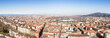 Landscape of Turin seen from the top of the Mole Antonelliana
