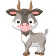 Farm animals. Goat