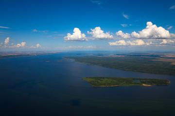 Great river Volga