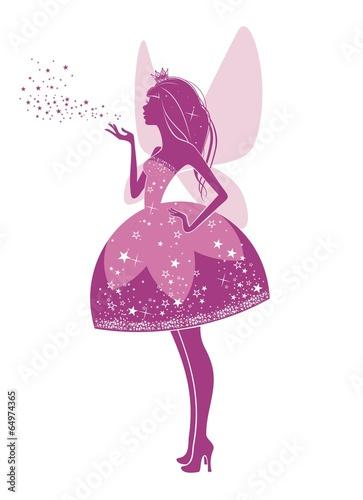 Вошебная фея в розовом