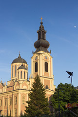 Orthodox church tower, Sarajevo