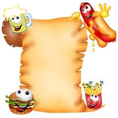 pergamena spot fast food