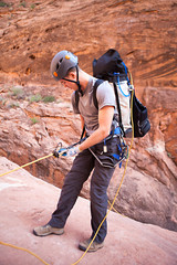 Canyoning in Arizona