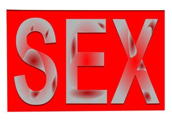sex yazı tasarımı