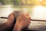 Fototapety Tea by the lake
