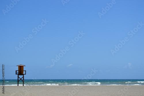 Vera Playas Beach, Almeria Spain
