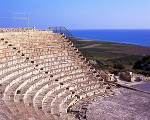Roman theatre, Kourion, Cyprus © Arena Photo UK