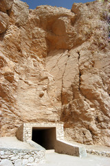 Ancient tomb at Valley of the kings