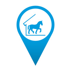 Icono localizacion simbolo cuadra